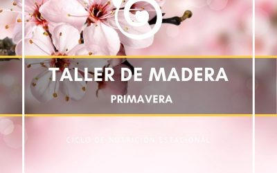 TALLER ELEMENTO MADERA