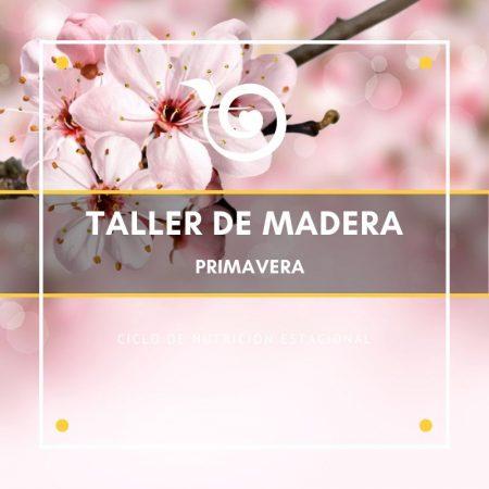 TALLER DE PRIMAVERA – MADERA